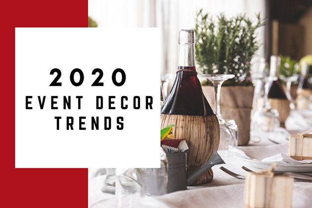 2020 event decor trends